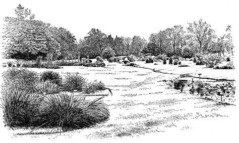 Botanic Garden View View Of Botanic Garden Clipart Etc