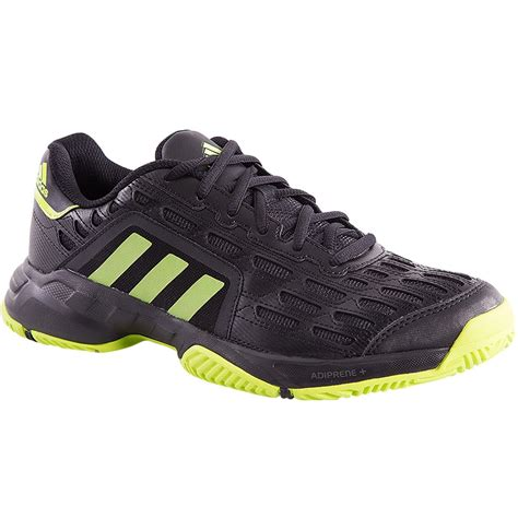Adidas Tennis Barricade Court By1650 adidas barricade court s tennis shoe black lime