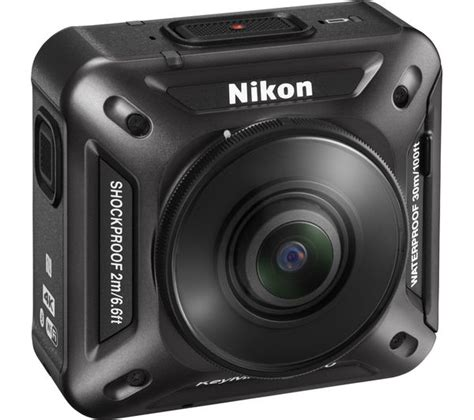 nikon keymission 360 4k ultra hd camcorder black deals pc world