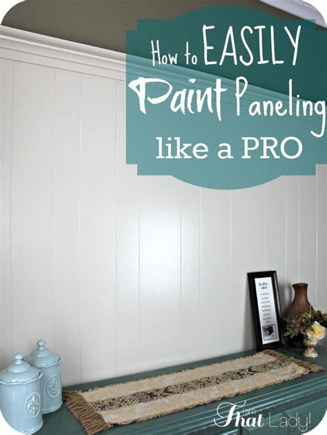 how to paint paneling paint over wood paneling
