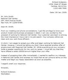 Cover Letter For Customer Service Call Center by Call Center Cover Letter Exles