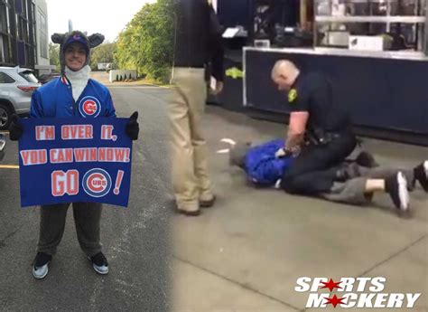 cop body slams fan cubs pittsburgh police officer body slams cubs fan during nl