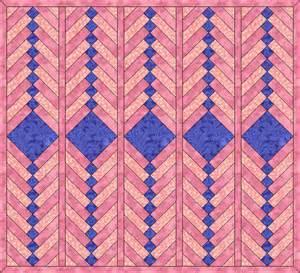 janel was here braid quilt pattern