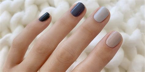 wear  muted nail color trend muted nail polishes