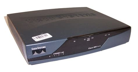 Router Cisco 800 Series cisco 800 series 877 ver 12 4 4 t1 integrated services