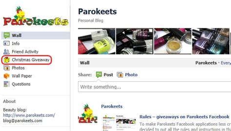Rules For Giveaways On Facebook - rules giveaways on parokeets facebook page