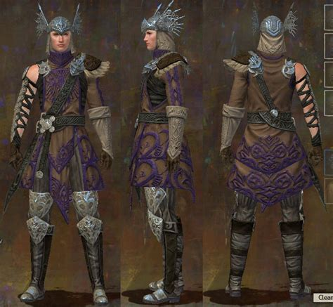 Gw2 Light Armor Gallery by Gw2 Gw2 Ascended Armor Gallery Time Keepers Gaming