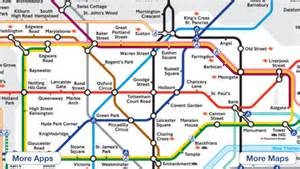 London tube map on the app store