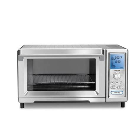 cuisinart chef s convection toaster oven in silver tob 260