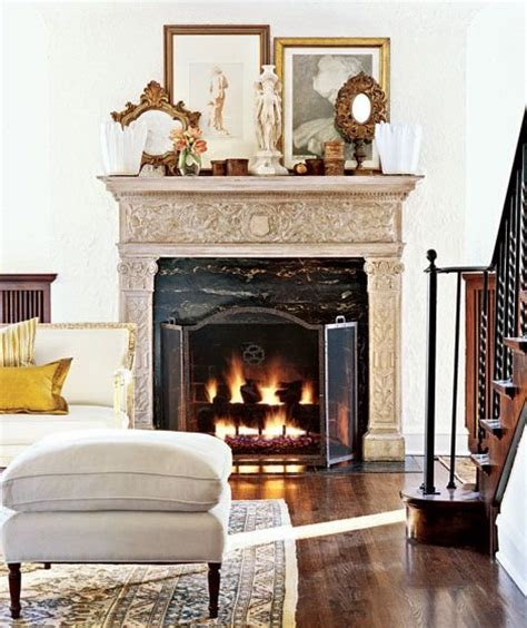 four fireplace mantel decorating ideas home decorating