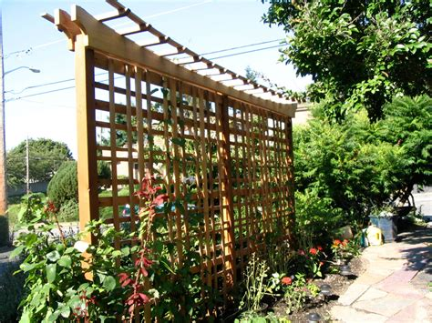 wood trellis plans ted germansen woodworking wood garden trellises how to