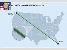 Bill Gates net worth seattle miami billion $100 Bill Stack
