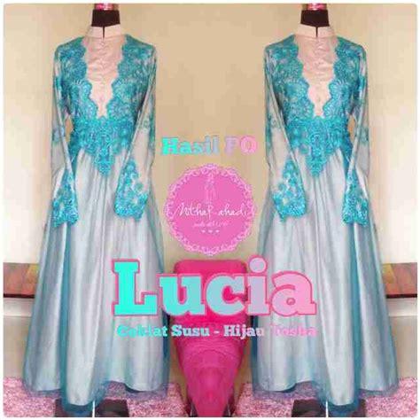 Cavali Batik Toska gaun untuk pertunangan sa ma ra boutique butik baju