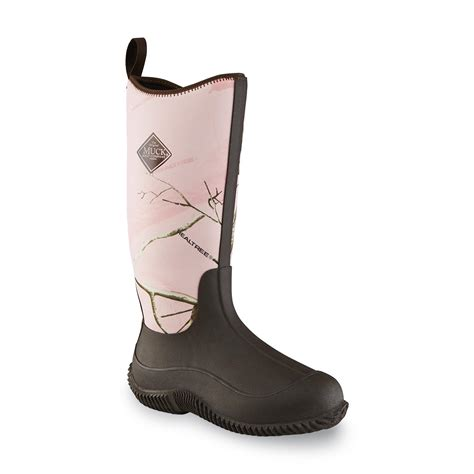 womens camo muck boots the original muck boot company s hale pink