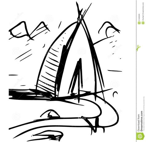layout vector format cartoon wigwam royalty free stock image image 31460926