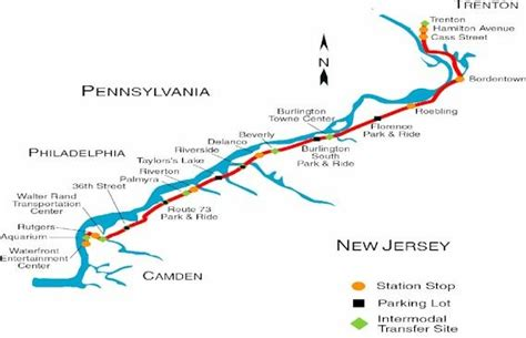 Jersey City Light Rail Map Talk River Line Nj Transit Wikipedia