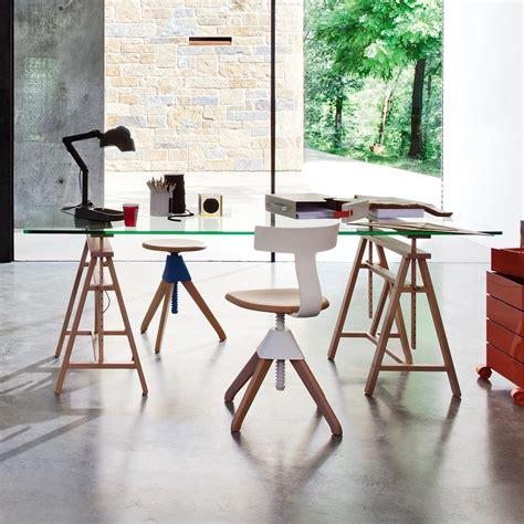 scrivania con cavalletti scrivania con cavalletti teatro di magis arredaclick