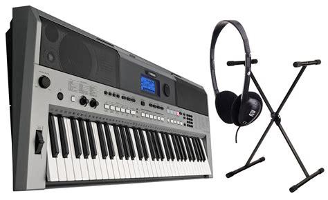 Keyboard Yamaha E443 yamaha psr e443 keyboard set mit st 228 nder kopfh 246 rer kirstein shop