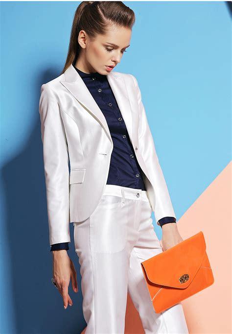 white pant suit popular winter white pant suit buy cheap winter white pant suit lots from china winter white
