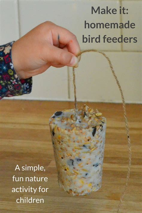 Homegrown And Handmade - bird feeders growing family