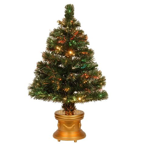 national tree company 48 in fiber optic radiance