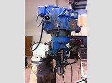 Alliant 42S 2HP BP Clone - Pwr Feed, DRO, Lube - $1800 - SE MI Dorian Tool