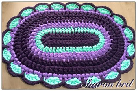 oval crochet rug pattern 17 best images about crochet oval rug on crochet doily rug trapillo and oval rugs