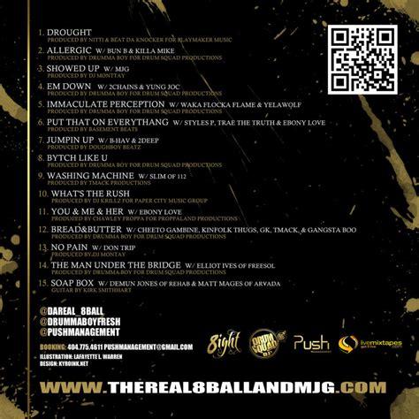 For Improvement Tracklist 8ball premro lyrics and tracklist genius