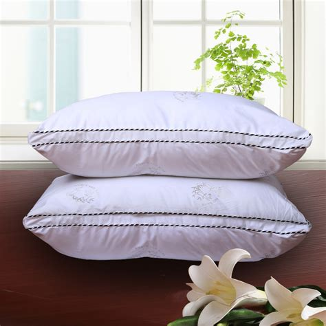 bed with a lot of pillows aliexpress buy 2pc lot bed pillows size 48x74cm 18 9x29inch 100 microfiber cotton