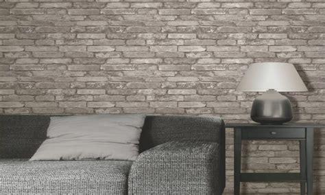 grey bedroom wallpaper bedroom brick effect wallpaper