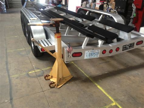 boat trailer on jack stands boat jack stands will these work offshoreonly
