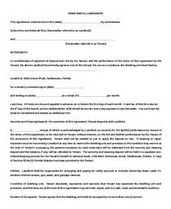 One Page Rental Agreement Template by 14 Simple Rental Agreement Templates Free Sle