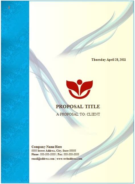 cover design templates word word documentation cover page template sponsorship