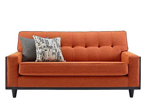 Tonic Sofas by G Plan Vintage The Fifty Nine Small Sofa In Tonic Orange