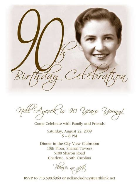 90th birthday invitations templates 90th birthday invitation 90th bd ideas