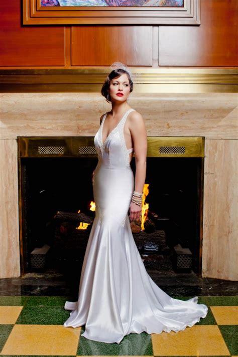 wedding dresses deco style deco wedding dress 30s wedding inspiration shoot