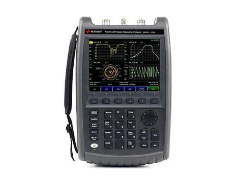 na fieldfox handheld rf vector network analyzer  ghz