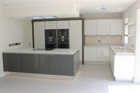 gloss white kitchens hallmark kitchen designs white anthracite gloss kitchen