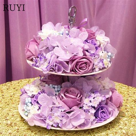 New Artificial Flowers Wedding Supplies Floral Cake