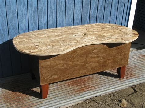 Kidney Bean Shaped Coffee Table Crafted Bathtub Kidney Bean Shaped Coffee Table By Modular Osb Custommade