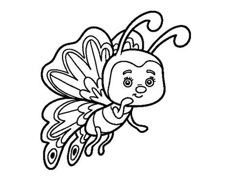 imagenes para colorear oruga dibujo de mariposa coqueta para colorear dibujos net