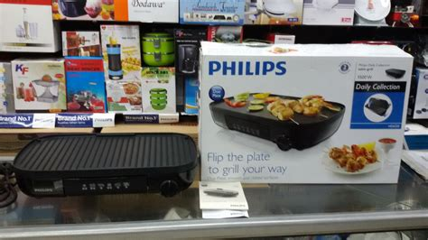 Pemanggang Listrik Table Grill Philips Hd 6321 philips daily collection table grill hd6320 daftar