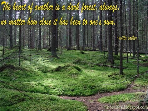 The Forest Would Be A Place Quote Forest Quotes Quotesgram