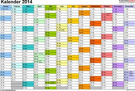 Kalender 2014 Pdf Kalender 2014 Zum Ausdrucken Als Pdf 16 Vorlagen
