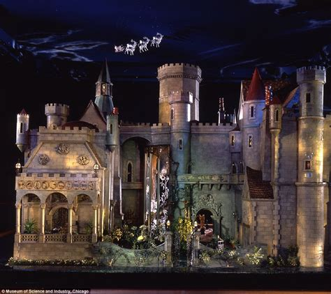 doll house castle inside the 7million doll house built by a silent era hollywood film star that