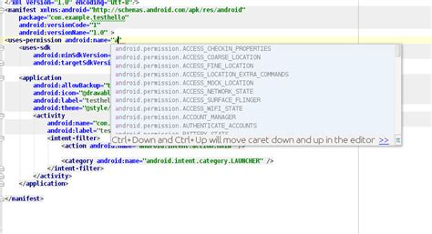 android uses permission adding permissions in androidmanifest xml in android studio stack overflow