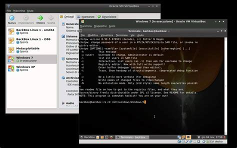reset windows password linux chntpw backbox linux 1 rc2 howto reset windows 7 password with