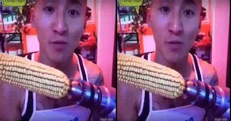 Bor Gigi jangan ditiru makan jagung pakai bor gigi pria ini patah
