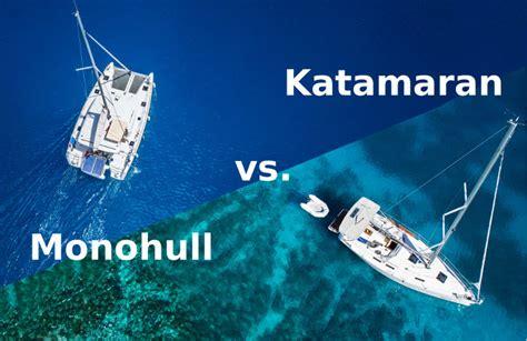 catamaran vs yacht katamaran vs monohull der gro 223 e vergleich