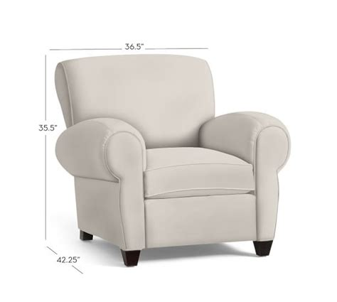 Manhattan Armchair by Manhattan Upholstered Armchair Collection Pottery Barn